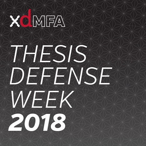 Next week! @larzhunter and @yashodhanmandke present their research for thesis defense week. http://dmoh.org/thesis18 @miamiuniversity @miamiohcca